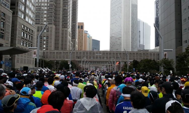 東京マラソン2014 with 腸脛靭帯炎