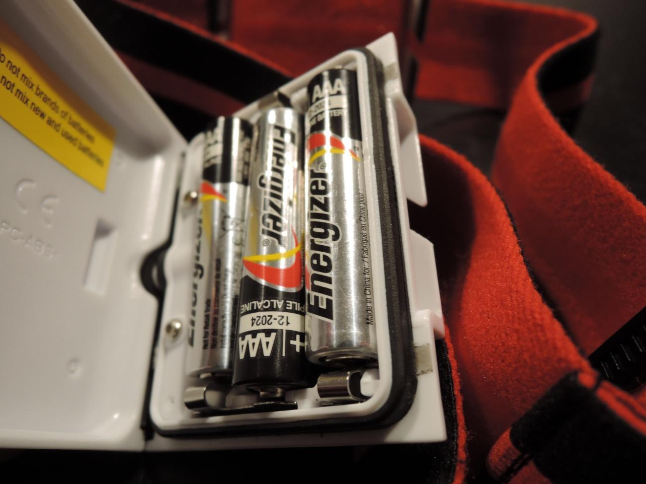 トレイルランナー2単4形電池