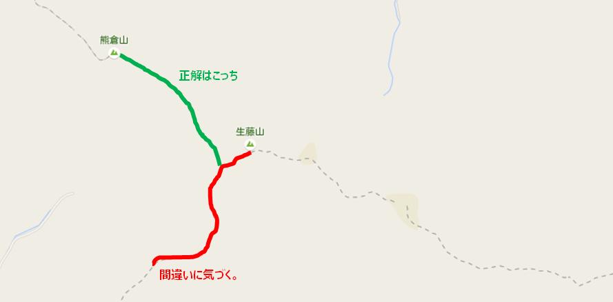 道間違い地図