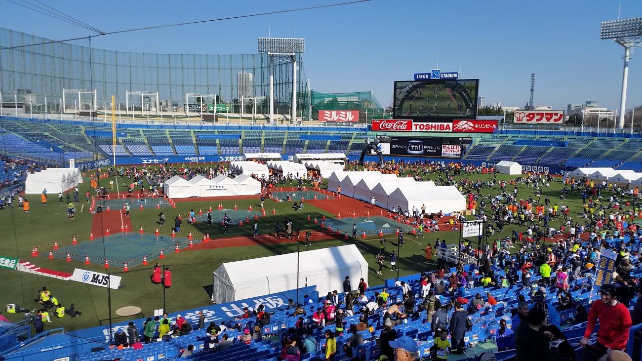 ~新宿界隈をグルグル3周~  第14回 新宿シティハーフマラソン