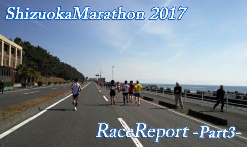 【その3】静岡マラソンレースレポート  越えるべきは過去の自分